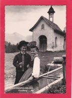 Modern Post Card Of Boy And Girl,Bregenzerwalder,Bregenz Forest, Vorarlberg, Austria,A26. - Austria