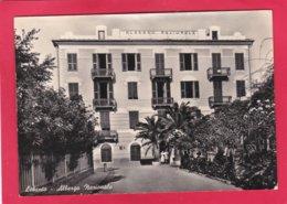Modern Post Card Of Albergo Nazionale,Levanto, Liguria, Italy,A26. - Italy