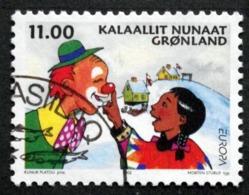 GREENLAND 2002  EUROPA  Minr.385    (O )    ( Lot D 1618 ) - Usados