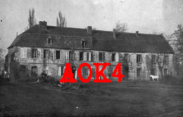08 Ardennes SECHAULT Chateau Des Rosiers Abbaye Occupation Allemande Monthois Challerange Champagne 1918 FAR 84 - Guerra, Militares