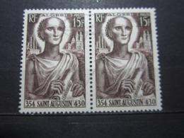 VEND BEAUX TIMBRES D ' ALGERIE N° 318 EN PAIRE , XX !!! - Unused Stamps