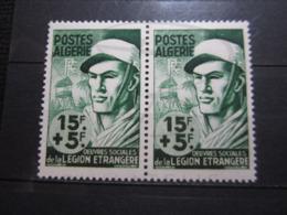VEND BEAUX TIMBRES D ' ALGERIE N° 310 EN PAIRE , XX !!! - Unused Stamps
