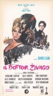 ADESIVO FILM - IL DOTTOR ZIVAGO - ANNO. 1966 - Vignettes Autocollantes