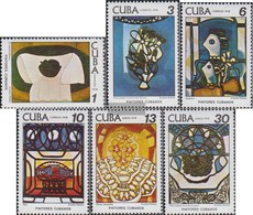 Cuba 2337-2342 (complete Issue) Fine Used / Cancelled 1978 Paintings Of A. Pelaez - Cuba