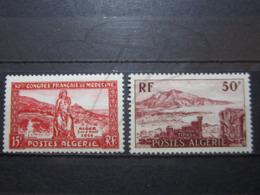 VEND BEAUX TIMBRES D ' ALGERIE N° 326 + 327 , XX !!! - Unused Stamps