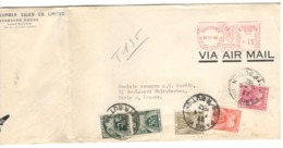24868 - EMA De VANCOUVER Avec Timbres Taxe - 1952-.... Règne D'Elizabeth II