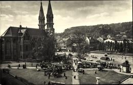Cp Meiningen In Südthüringen, Platz Der Republik, Kirche - Germany