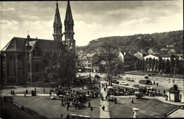 Cp Meiningen In Südthüringen, Platz Der Republik, Kirche - Allemagne