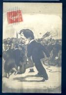 """Cpa Carte Photo Réponse De Robert Nanteuil à Mr Gassier Redacteur à L' Humanité Paris """" à Mr Robert Nanteuil Tolem"""" LZ93 - Satira"""