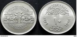 EGYPT-10 Piastres (1979) National Education Day-km#486- .Rare - Egypt