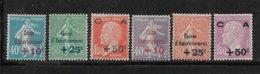 France Timbre De 1927 Caisse D'amortissement N°246 A 251 Neuf ** Cote 305€ - Frankreich