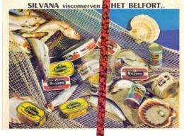 Pub Reclame - Silvana Visconserven Het Belfort Bij Alice Van De Voorde - Maria Aalter - Publicidad