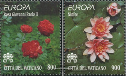 Vatikanstadt 1277-1278 (complete Issue) Unmounted Mint / Never Hinged 1999 Nature- And National - Unused Stamps