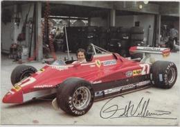 7-GILLES VILLEUVE-FERRARI F1 - Grand Prix / F1