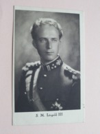S.M. LEOPOLD III ( Ph. R. Marchand / Edit. Bertels ) Voir / See Photo ! - Case Reali