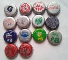 14 Different Philippines Bottle Caps - Limonade