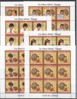 ZZ290 2010 UNION DES COMORES CHESS CHINOIS XIANGQI STARS 9SET MNH - Schach