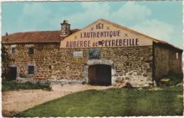 Y10- 07) L'AUBERGE DE PEYREBEILLE  (ARDECHE) VUE GENERALE - ETAT ACTUEL - (PUB BYRRH - SUZE - 2 SCANS) - France