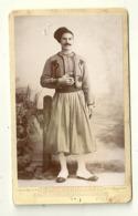 BLIDAH PHOTOGRAPHIE PORTRAIT SOLDAT REGIMENT DE TIRAILLEURS GUERRE 1916 MILITAIRE MILITARIA ALGERIE - Guerra, Militares