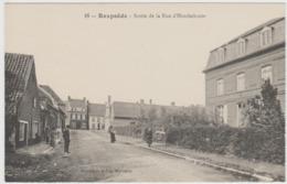 CARTE POSTALE   REXPOEDE 59  Sortie De La Rue D'Hondschoote - Altri Comuni