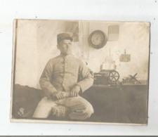 BOU DENIB (MAROC) PHOTO AVEC MILITAIRE FRANCAIS 28 11 1911 - Guerra, Militares