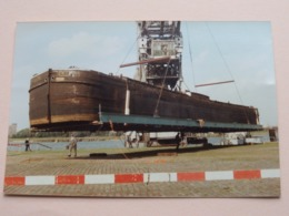 LICHTER O/d Kade Te Antwerpen ( Voir / See Photo For Detail ) Format 15 X 10 Cm. ! - Barche