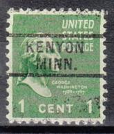 USA Precancel Vorausentwertung Preo, Locals Minnesota, Kenyon 729 - Vereinigte Staaten