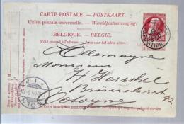 AK-div-32- 358 -  Belgien - Ganzsache - 1905 - Ganzsachen