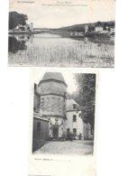 CPA - 51 - CHALONS EPERNAY ENVIRONS - LOT De 2 CARTES, VANDIERES Et PORT à BINSON - CHAMPAGNE GRAND EST - Camp De Châlons - Mourmelon