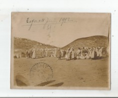 TAFORALT (TAFOUGHALT MAROC) PHOTO GROUPE DE MAROCAINS JUIN 1912 - Lieux