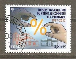 FRANCE 2017 Y T N ° 5132 Oblitéré CACHET ROND - France