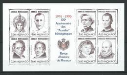 MONACO 1996 . Bloc Feuillet N° 72 . Neuf ** (MNH) - Blocs