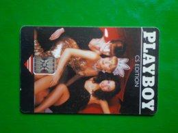 Télécarte République Tchéque, Playboy 50 000ex, Utilisé, Traces - Tschechoslowakei