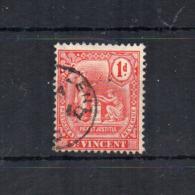 Gran Bretagna - (Vecchie Colonie E Protettorati - ST. VINCENT) - 1907 -  1 D - Usato - (FDC18448) - St.Vincent (...-1979)