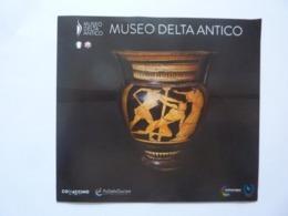 """Pieghevole Illustrato """"MUSEO DEL DELTA ANTICO"""" - Dépliants Turistici"""