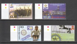 G1159 PAPUA NEW GUINEA ORGANIZATIONS ROTARY 1SET MNH - Rotary, Club Leones
