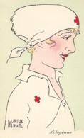 CROIX ROUGE Illustrateur Marthe BUHL INFIRMIERE L'ingénue ...G - Croce Rossa