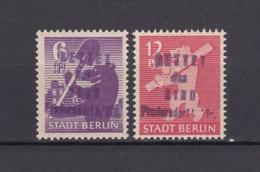 Lokalausgaben - Fredersdorf - 1945 - Michel Nr. 69/70 - BPP Geprüft - Sowjetische Zone (SBZ)