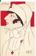 CROIX ROUGE Illustrateur Marthe BUHL INFIRMIERE La Major  ...G - Croce Rossa