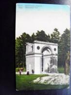 Old Card Carte Riga Latvia Alexander Tor Arc Arch - Latvia