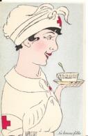 CROIX ROUGE Illustrateur Marthe BUHL INFIRMIERE La Bonne Fille    ...G - Croce Rossa