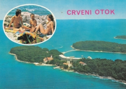 Rovinj - Crveni Otok - Nudist Naturist Beach 1977 - Croatia
