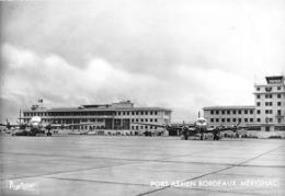Port Aérien Bordeaux-MERIGNAC - Chambre De Commerce - Avions Bréguet-deux-ponts Et D C 4 D'Air France - Photo Claude Day - Merignac