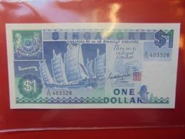 SINGAPOUR 1$ 1987 PEU CIRCULER/NEUF (B.9) - Singapour