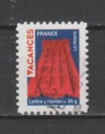 """FRANCE / 2009 / Y&T N° AA 319 : """"Vacances Rouges"""" (matelas Pneumatique) - Choisi Cachet Rond - France"""