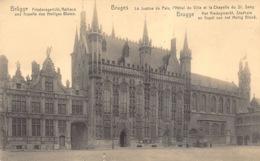 Brugge Bruges Brügge   Het Vredegerecht Stadhuis En Kapel Van Het Heilig Bloed Op Burg    Barry 1356 - Brugge