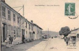 55 . N°106167 . Les Islettes .bureau De Poste Et Telegraphe .rue Jules Bancelin . - Sonstige Gemeinden