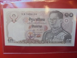 THAILANDE 10 BAHT 1980 PEU CIRCULER/NEUF (B.9) - Tailandia