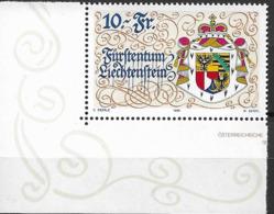 1996 Liechtenstein   Mi. 1136 **MNH EUL 75 Jahre Neue Verfassung - Neufs