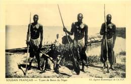 SOUDAN FRANCAIS - TYPES DE BOZOS DU NIGER - Sudan